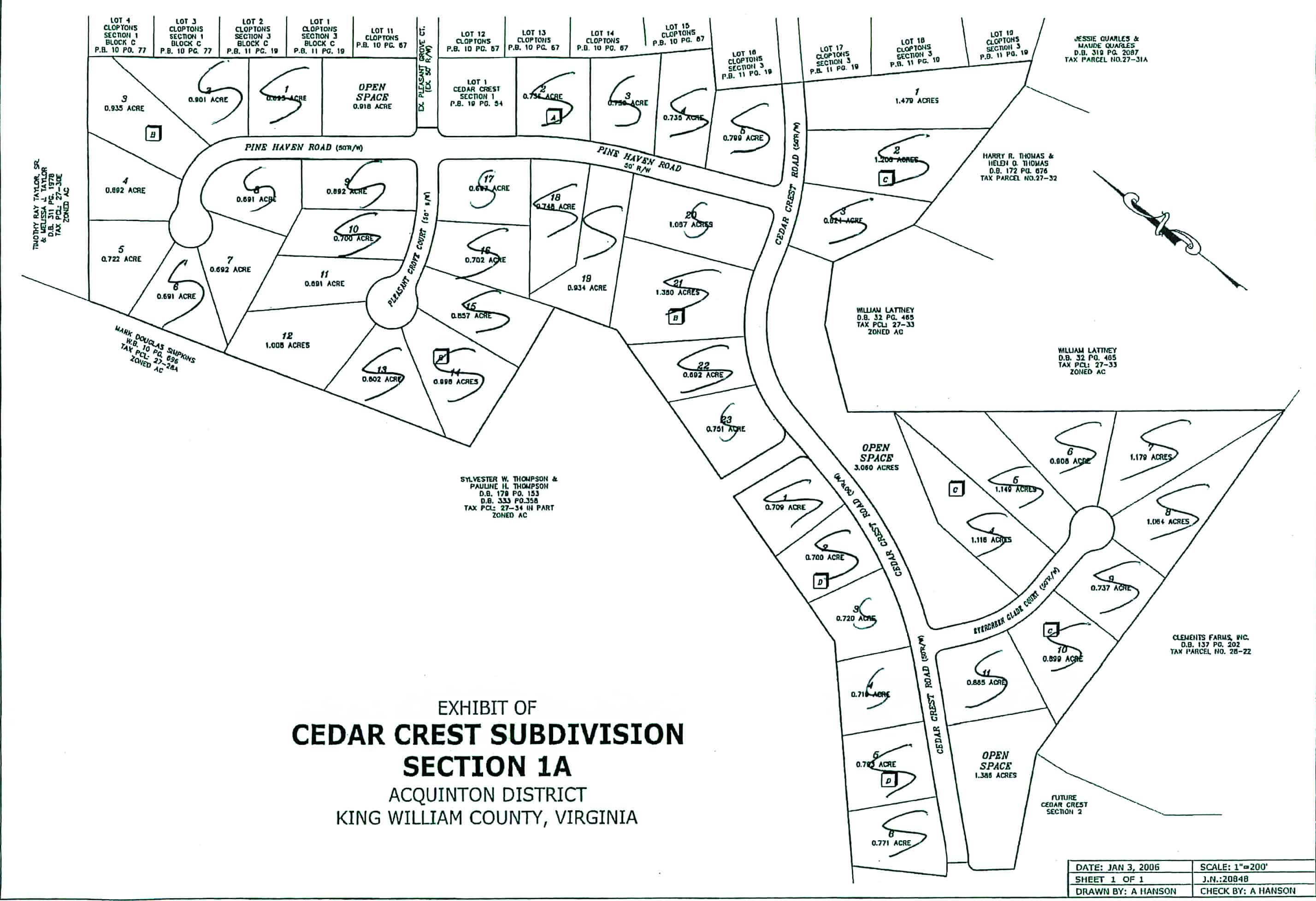 Cedar Crest Plat 1